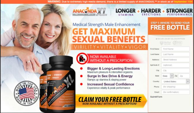 Anaconda male enhancement pills